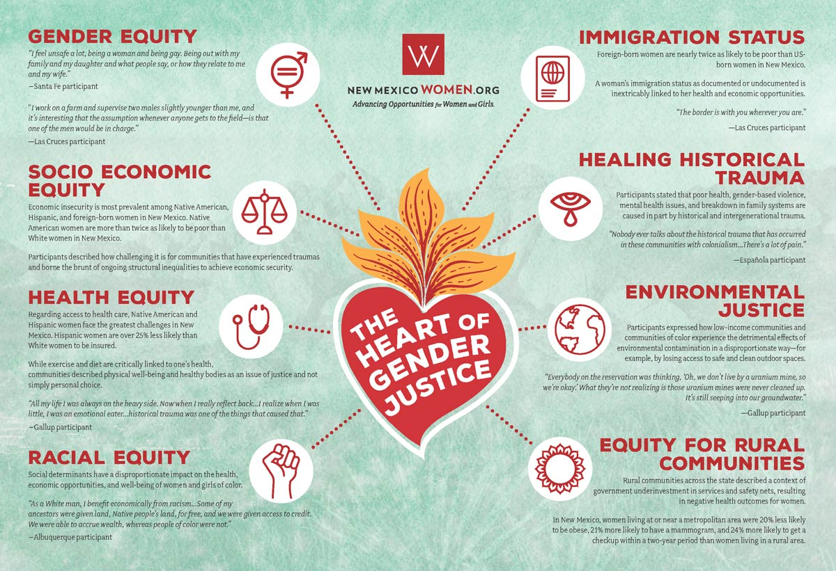 Heart of Gender Justice Infographic